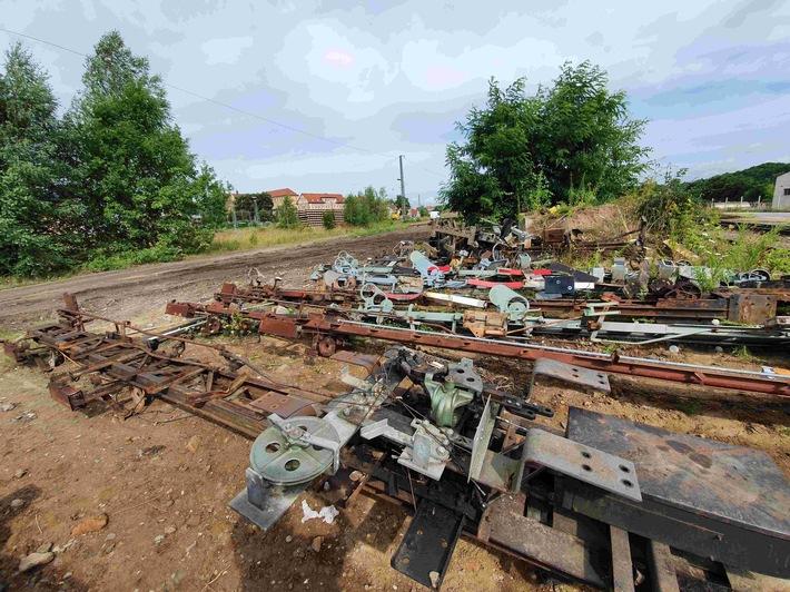 BPOLI EF: Diebstahl von Signaleinrichtungen im Bahnhofsbereich Altenburg, Zeugenaufruf & Bürgerhinweis