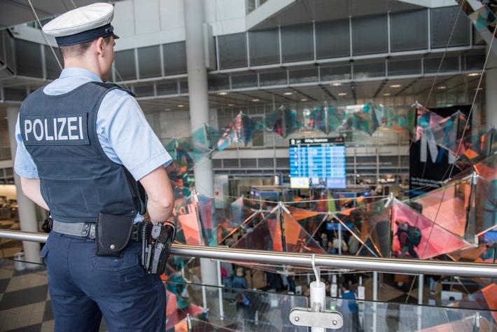 Bundespolizeidirektion München: Die Inzidenzen steigen wieder, Sommerferien sind aber trotzdem -Die Bundespolizei möchte, dass Sie sicher reisen-