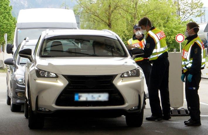 Bundespolizeidirektion München: Mutmaßliche Schleuser bei Grenzkontrollen festgenommen: Rosenheimer Bundespolizei ermittelt gegen Iraner und Montenegriner