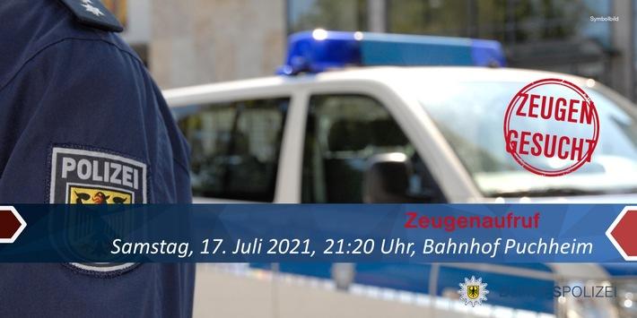Bundespolizeidirektion München: Zeugenaufruf / Bundespolizei sucht nach Schlägerei nach Geschädigtem und Zeugen