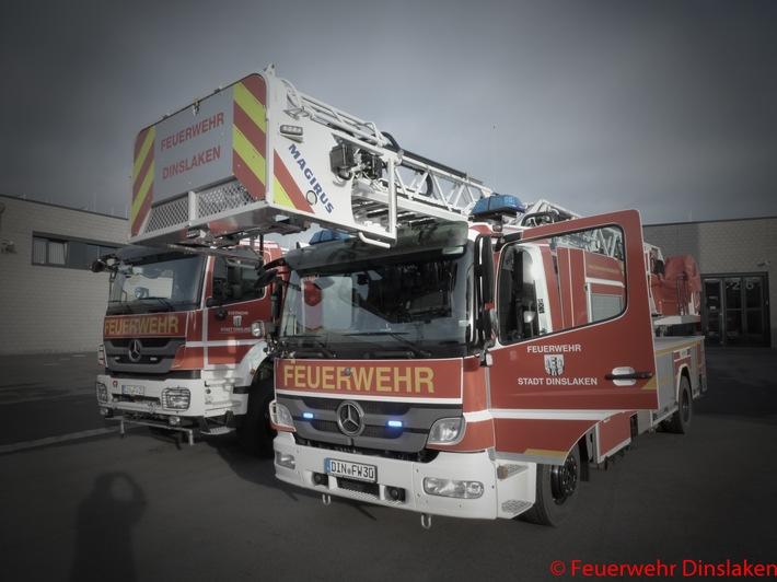 FW Dinslaken: Aufmerksame Nachbarn alarmierten die Feuerwehr.