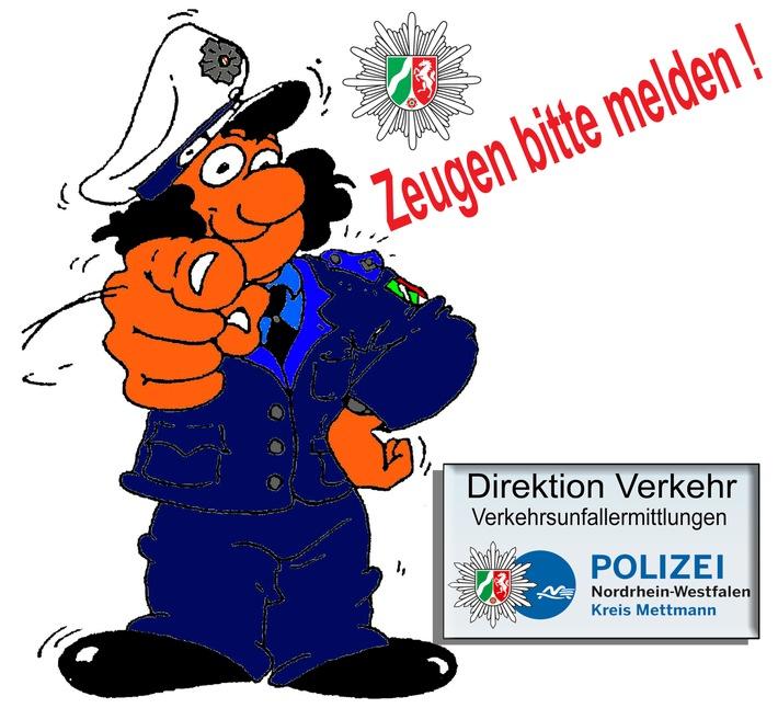 POL-ME: Fahrradfahrer dringend gesucht - Heiligenhaus - 2107141