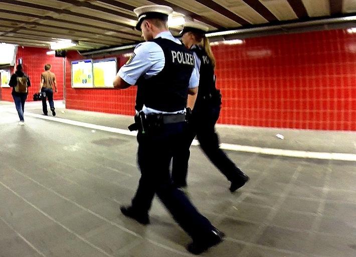 Bundespolizeidirektion München: Frau erst belästigt dann geschlagen / Passanten helfen und rufen Polizei