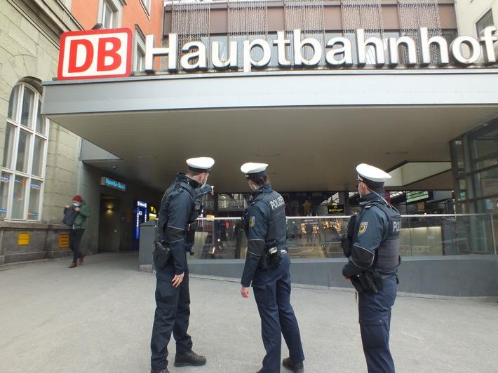 Bundespolizeidirektion München: Körperliche Auseinandersetzung / Passanten greifen schlichtend ein
