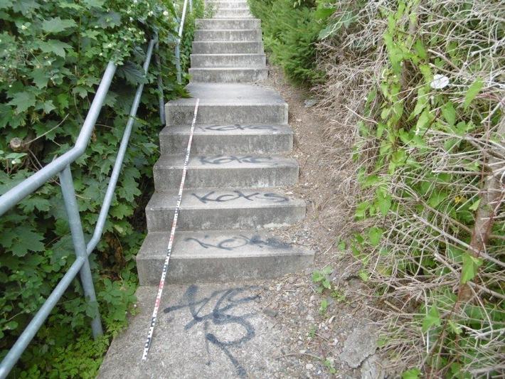LPI-SLF: Sachbeschädigungen durch Graffiti