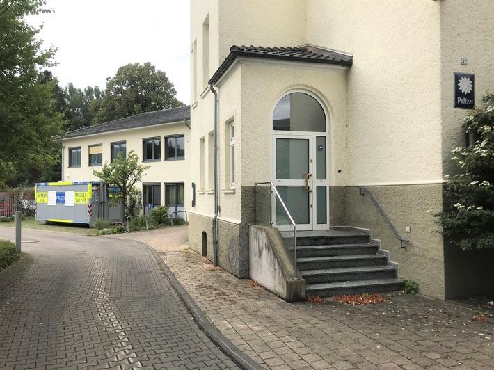 POL-HM: Größere Umbaumaßnahmen bei der Polizei in Bad Pyrmont - So können Bürgerinnen und Bürger die Polizeiwache für die Dauer der Modernisierung erreichen