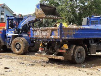 THW Bayern: Einsatz im Katastrophengebiet: Eindrücke des THW-Zugtrupps aus Lindau