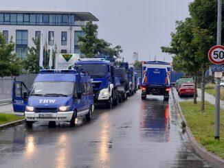 THW Bayern: Weitere THW-Kräfte aus Bayern nach Rheinland-Pfalz und Nordrhein-Westfalen entsandt