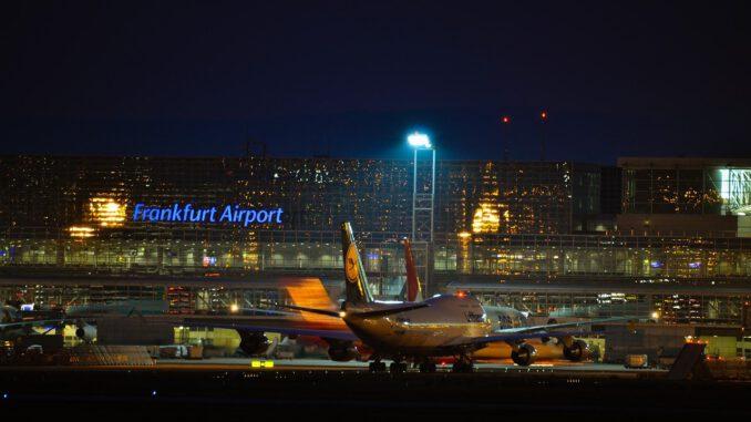 Frankfurt Airport Fraport Boeing  - Mr_Worker / Pixabay