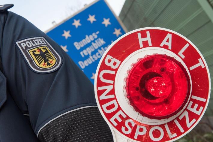 BPOL NRW: Bundespolizei verhaftet 22-jährigen Viersener am Grenzübergang Heidenend