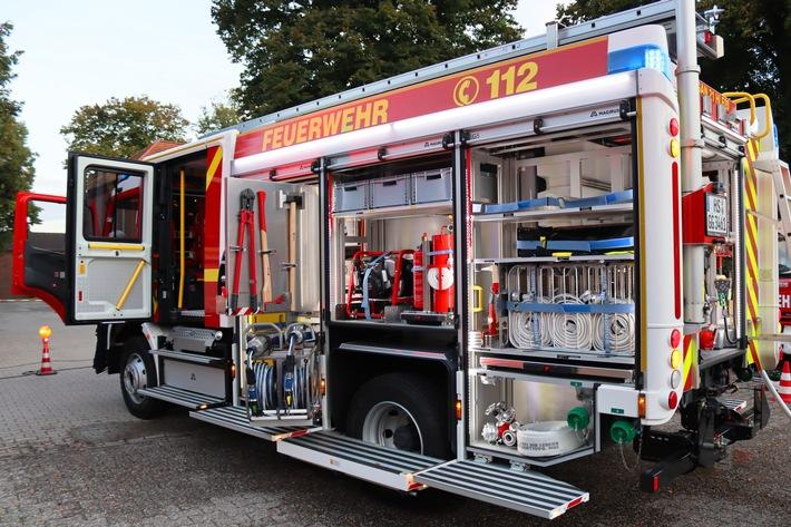 FW Gangelt: Neues Löschfahrzeug für die Feuerwehr Gangelt