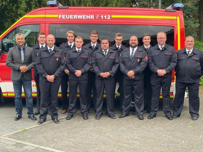 FW Sonsbeck: Jahresversammlung 2021 der Einheit Hamb