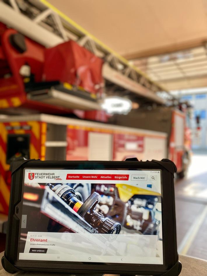FW-Velbert: Neue Homepage der Feuerwehr Velbert Online