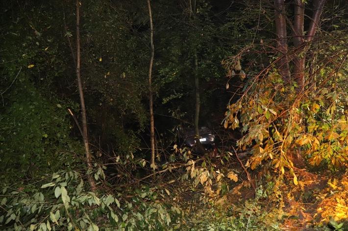POL-ME: Mit Fahrzeug überschlagen und schwer verletzt - Ratingen - 2109052