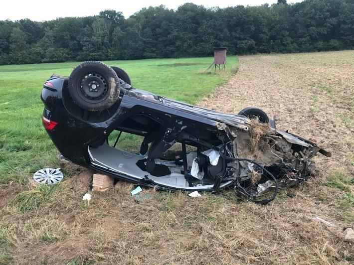POL-PDTR: Nachmeldung tödlicher Verkehrsunfall auf der L 175