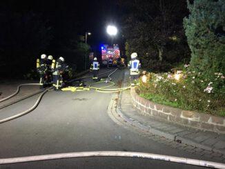 FW Dinslaken: Kellerbrand auf dem Quellenweg in Oberlohberg