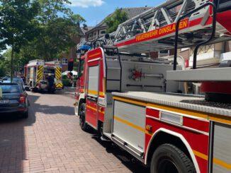 FW Dinslaken: Zwei Brandeinsätze für die Feuerwehr am späten Mittag