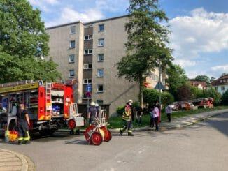 FW-EN: Brand im Hochhaus