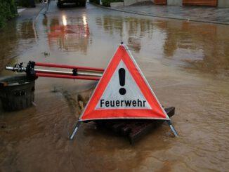 FW Eigeltingen: Unwetter Bernd führt auch in Eigeltingen und den Ortsteilen zu Einsätzen der Feuerwehr
