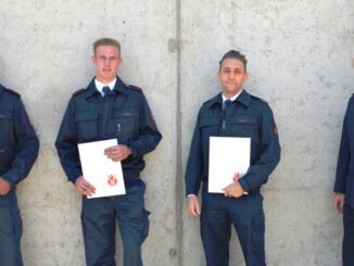 FW Ratingen: Ausbildungen beendet! - Neue Brandmeister für die Feuerwehr Ratingen