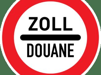 Customs Douane Sign Border Crossing  - iXimus / Pixabay