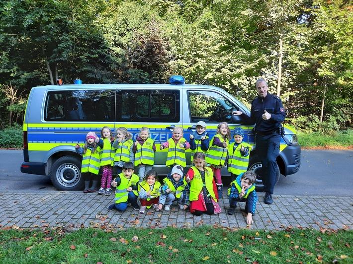POL-NI: Polizei zu Besuch im Kindergarten Eystrup