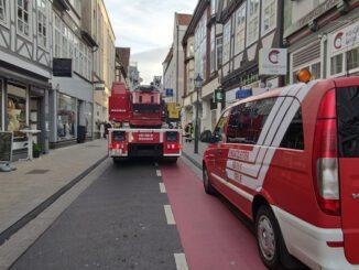 FW Celle: Brandgeruch in einem Keller in der Celler Altstadt
