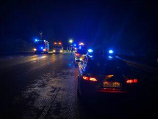 FW-EN: Verkehrsunfall auf der Hagener Straße (Umgehungsstraße)sowie zwei weitere Hilfeleistungseinsätze