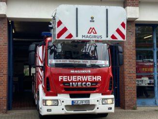 FW-KLE: Ein Feuerwehr-Urgestein geht in den Ruhestand