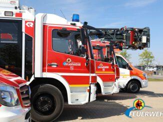 FW-MG: Elektrobrand in einem Industriebetrieb